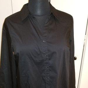 Cotton Poplin Big Shirt